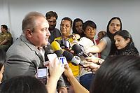 Recife (PE), 19/02/2020 - Carnaval-Recife - Secretario de Saude de Pernambuco, Andre Longo, durante coletiva na Secretaria de Saude do Recife nesta quarta-feira (19) para divulgacao das acoes e o esquema durante o carnaval na cidade. (Foto: Bruno Lafaiete/Codigo 19/Codigo 19)