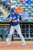 Peter Alonso (34) of the Las Vegas 51s ready at bat during a game against the Oklahoma City Dodgers at Chickasaw Bricktown Ballpark on June 17, 2018 in Oklahoma City, Oklahoma. Oklahoma City defeated Las Vegas 5-3  (William Purnell/Four Seam Images)