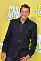 NASHVILLE, TN - NOVEMBER 1: Rodney Atkins on the Macy's Red Carpet at the 46th Annual CMA Awards at the Bridgestone Arena in Nashville, TN on Nov. 1, 2012. © mpi99/MediaPunch Inc. /NortePhoto
