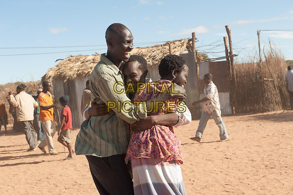 Arnold Oceng, Ger Duany and Kuoth Wiel <br /> in The Good Lie (2014)<br /> *Filmstill - Editorial Use Only*<br /> CAP/NFS<br /> Image supplied by Capital Pictures