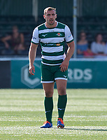 Ealing Trailfinders players during the 2019/20 Pre Season Friendly match between Ealing Trailfinders and Bishop's Stortford at Castle Bar , West Ealing , England  on 24 August 2019. Photo by Alan  Stanford / PRiME Media images
