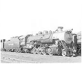 D&amp;RGW #1222 in Salt Lake City.<br /> D&amp;RGW  Salt Lake City, UT  7/25/1950