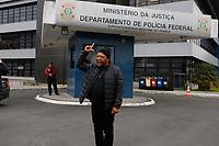 CURITIBA, PR, 02.08.2018 – LULA-PR – O cantor Martinho da Vila deixa à sede da Policia Federal em Curitiba (PR) após visitar o ex-presidente Lula na tarde de quinta-feira (02). (Foto: Paulo Lisboa / Brazil Photo Press)