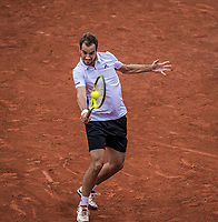 Paris, France, 3 June, 2017, Tennis, French Open, Roland Garros, Richard Gasquet (FRA)<br /> Photo: Henk Koster/tennisimages.com