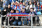 10.03.2018, Vonovia Ruhrstadion, Bochum, GER, 2.FBL., VfL Bochum vs. Holstein Kiel<br /> im Bild / picture shows: <br /> mitgereiste Kieler Fans <br /> <br /> <br /> <br /> Foto &copy; nordphoto / Meuter