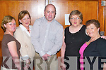 Western: Letting their hair down at the 9th Annual Country Music Festival Weekend in the Brandon Hotel, Tralee, on Saturday were Teresa Dardas, Castleisland, Irene Kelly and Kevin Kelly, Farranfore, Mary Brennan, Maine St, Tralee, Kathleen McMurray, Abbeyfeale..