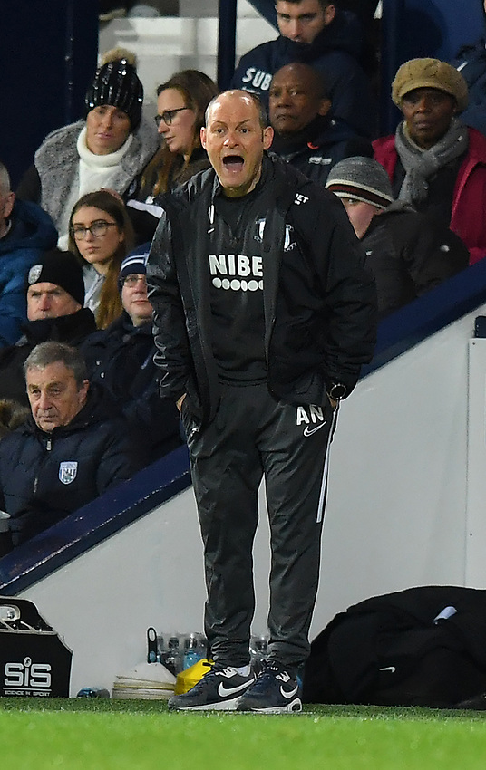 Preston North End's Manager Alex Neil Shouts to his team during the game<br /> <br /> Photographer Dave Howarth/CameraSport<br /> <br /> The EFL Sky Bet Championship - West Bromwich Albion v Preston North End - Tuesday 25th February 2020 - The Hawthorns - West Bromwich<br /> <br /> World Copyright © 2020 CameraSport. All rights reserved. 43 Linden Ave. Countesthorpe. Leicester. England. LE8 5PG - Tel: +44 (0) 116 277 4147 - admin@camerasport.com - www.camerasport.com