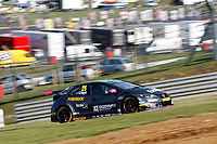 Round 10 of the 2018 British Touring Car Championship.  #26 Daniel Lloyd. BTC Norlin Racing. Honda Civic Type R.