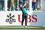 Miguel Tabuena of Philippines tees off the first hole during the 58th UBS Hong Kong Golf Open as part of the European Tour on 10 December 2016, at the Hong Kong Golf Club, Fanling, Hong Kong, China. Photo by Marcio Rodrigo Machado / Power Sport Images