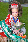 PROUD: Ciara OSullivan, Camp, who won the 9/10 All Ireland Irish Dancing Championship in the INEC Killarney on Sunday.