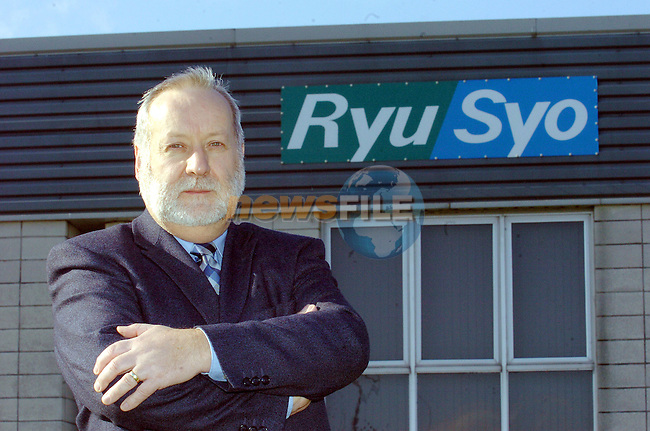 RyuSyo Boss Walter Robinson..Photo Fran Caffrey Newsfile.ie..This Picture has been sent to you by Newsfile Ltd..The Studio,.Millmount Abbey,.Drogheda,.Co. Meath,.Ireland..Tel: +353(0)41-9871240.Fax: +353(0)41-9871260.ISDN: +353(0)41-9871010.www.newsfile.ie..general email: pictures@newsfile.ie