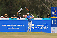 Andrew Dodt (AUS) on the 3rd tee during Round 4 of the Australian PGA Championship at  RACV Royal Pines Resort, Gold Coast, Queensland, Australia. 22/12/2019.<br /> Picture Thos Caffrey / Golffile.ie<br /> <br /> All photo usage must carry mandatory copyright credit (© Golffile   Thos Caffrey)