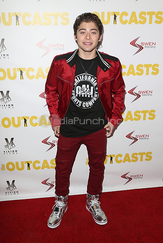 "WESTWOOD, CA - April 13: Ryan Ochoa, At Premiere Of Swen Group's ""The Outcasts"" At The Landmark Regent  In California on April 13, 2017. Credit: FS/MediaPunch"
