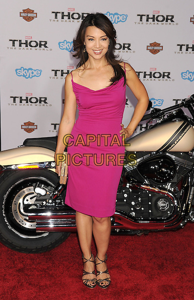 HOLLYWOOD, CA - NOVEMBER 04: Ming-Na Wen at the Los Angeles Premiere 'Thor: The Dark World' at the El Capitan Theatre on November 4, 2013 in Hollywood, California, USA.<br /> CAP/ROT/TM<br /> &copy;Tony Michaels/Roth Stock/Capital Pictures