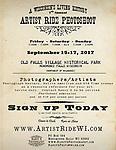 Artist Ride 2017