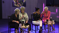 Maggie Oliver, Amanda Barrie, Malika Haqq and Ashley James.<br /> Celebrity Big Brother 2018 - Day 7<br /> *Editorial Use Only*<br /> CAP/KFS<br /> Image supplied by Capital Pictures