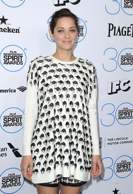 WWW.ACEPIXS.COM<br /> <br /> January 10 2015, LA<br /> <br /> Marion Cotillard attending the 2015 Film Independent Filmmaker Grant and Spirit Awards nominee brunch at the BOA Steakhouse on January 10, 2015 in West Hollywood, California.<br /> <br /> By Line: Peter West/ACE Pictures<br /> <br /> <br /> ACE Pictures, Inc.<br /> tel: 646 769 0430<br /> Email: info@acepixs.com<br /> www.acepixs.com