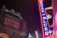The House of Blues is located across Lansdowne Street from Fenway Park in Boston, Mass., USA, on Friday, Dec. 4, 2015. Lansdowne Street has a number of bars and nightclubs.