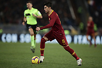 Football, Serie A: AS Roma - US Sassuolo, Olympic stadium, Rome, December 26, 2018. <br /> Roma's Diego Perotti in action during the Italian Serie A football match between Roma and Sassuolo at Rome's Olympic stadium, on December 26, 2018.<br /> UPDATE IMAGES PRESS/Isabella Bonotto