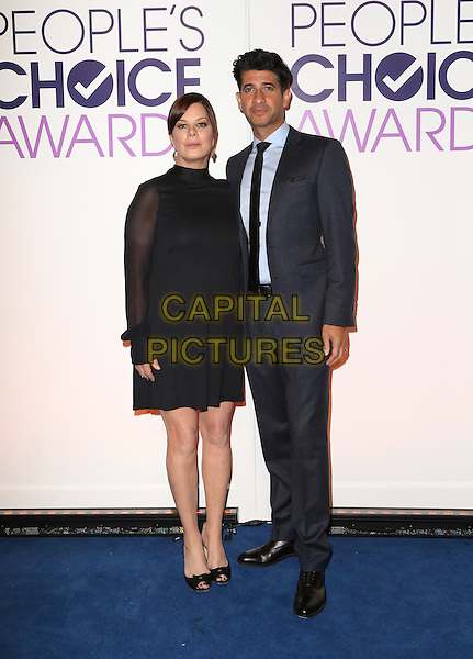 Beverly Hills, CA - November 03 Marcia Gay Harden, Raza Jaffrey Attending People's Choice Awards 2016 - Nominations Press Conference At The Paley Center for Media On November 03, 2015. <br /> CAP/MPI/UPAFS<br /> &copy;FSUPA/MPI/Capital Pictures