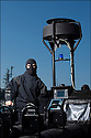 Juin 2010, Commandos Marine.<br /> MAJOR L. DIT &quot;YO&quot;,<br /> chef du Secteur vecteur nautique commando (SVNC) &agrave; la Basefusco de Lorient.