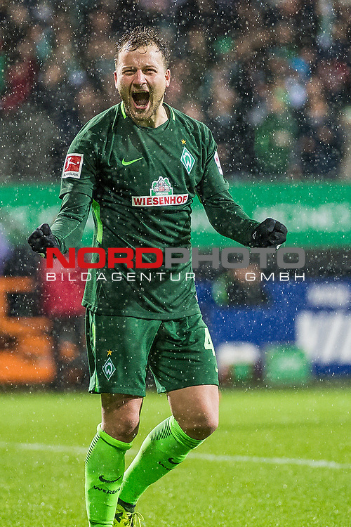 19.11.2017, Weser Stadion, Bremen, GER, 1.FBL SV Werder Bremen vs Hannover 96, im Bild<br /> <br /> <br /> Philipp Bargfrede (#44, Werder Bremen), <br /> <br /> Foto &copy; nordphoto / Dostmann