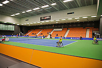 December 20, 2014, Rotterdam, Topsport Centrum, Lotto NK Tennis, overall hall 1<br /> Photo: Tennisimages/Henk Koster