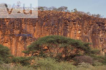 Great Rift Valley Wall near Lake Baringo, Kenya