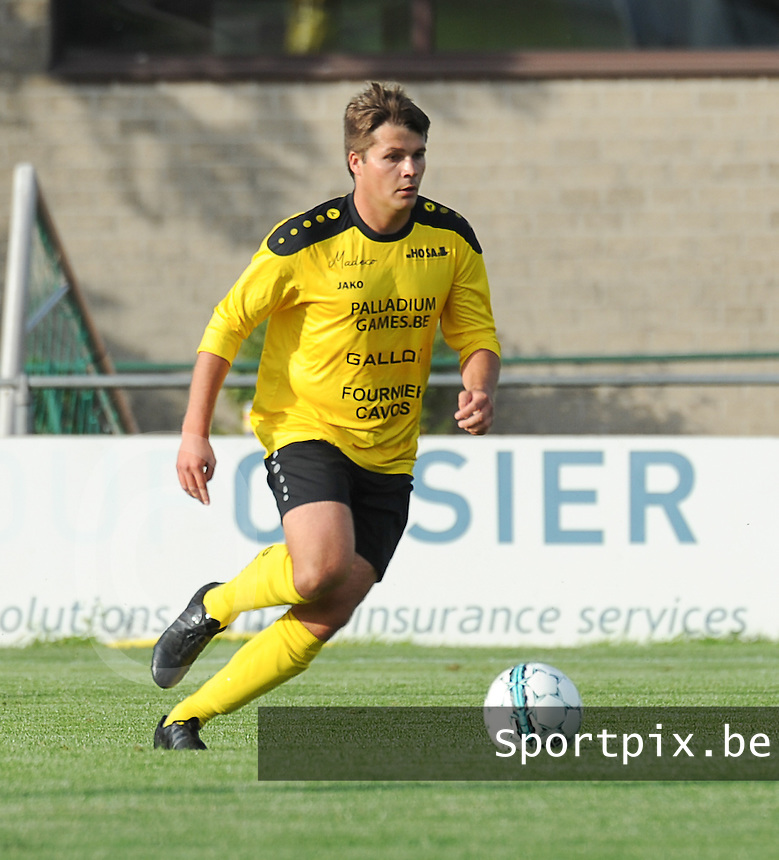 KSCT Menen - Winkel Sport :<br /> <br /> KSCT Menen : Karim Stockx<br /> <br /> foto VDB / BART VANDENBROUCKE