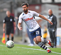 Preston North End's Joe Rafferty in action <br /> <br /> Photographer Dave Howarth/CameraSport<br /> <br /> The Carabao Cup First Round - Bradford City v Preston North End - Tuesday 13th August 2019 - Valley Parade - Bradford<br />  <br /> World Copyright © 2019 CameraSport. All rights reserved. 43 Linden Ave. Countesthorpe. Leicester. England. LE8 5PG - Tel: +44 (0) 116 277 4147 - admin@camerasport.com - www.camerasport.com