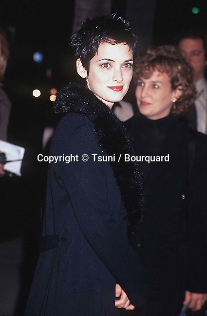 Winona Ryder arriving at the premiere of the Crucible in Los Angeles. November 20, 1996.           -            RyderWinona_Crucible_1.jpg