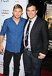 "HOLLYWOOD, CA. - November 04: Actor Brian Geraghty and Director Kyle Patrick Alvarez arrive at the AFI Fest Screening Of ""Bad Lieutenant: Port Of Call New Orleans"" Grauman's Chinese Theatre on November 4, 2009 in Hollywood, California."