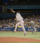 Masahiro Tanaka (Yankees),<br /> APRIL 4, 2014 - MLB :<br /> Pitcher Masahiro Tanaka of the New York Yankees during the baseball game against the Toronto Blue Jays at Rogers Centre in Toronto, Ontario, Canada. Tanaka made his major league debut in the 7-3 Yankees win. (Photo by AFLO)