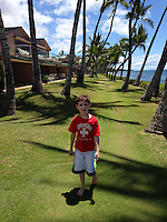 Max at Puamana, Lahaina, Maui, Hawaii, US