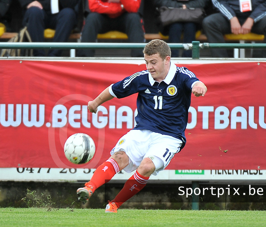 Scotland U19 - Georgia U19 : Ryan Fraser.foto DAVID CATRY / Nikonpro.be