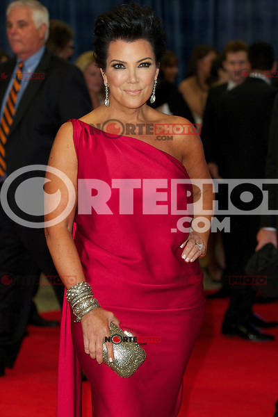 WASHINGTON, DC - APRIL 28:  Kris Jenner attends the 2012 White House Correspondents Dinner at the Washington Hilton Hotel in Washington, D.C  on April 28, 2012  ( Photo by Chaz Niell/Media Punch Inc.)