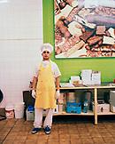 ARGENTINA, Bariloche, portrait of chef in kitchen