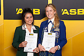 Girls Tennis finalists Danielle Ferneridis and Carli Davis. ASB College Sport Young Sportsperson of the Year Awards held at Eden Park, Auckland, on November 24th 2011.