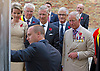 31.07.2017, Ypres; Belgium: PRINCE CHARLES, QUEEN MATHILDE AND KING PHILIPPE OF BELGIUM,<br />visit Passchendaele Memorial Park where they opened a Poppy Garden.<br />This year marks the centenary anniversary of the beginning of the Battle of Passchendaele, the Third Battle of Ypres. The battle in Flanders began on 31 July 1971 and was a major engagement in the First World War, claiming the lives of around 275,000 British and Commonwealth Military personnel and around 200,000 German lives.<br />Mandatory Credit Photo: &copy;MoD/NEWSPIX INTERNATIONAL<br /><br />IMMEDIATE CONFIRMATION OF USAGE REQUIRED:<br />Newspix International, 31 Chinnery Hill, Bishop's Stortford, ENGLAND CM23 3PS<br />Tel:+441279 324672  ; Fax: +441279656877<br />Mobile:  07775681153<br />e-mail: info@newspixinternational.co.uk<br />*All fees payable to Newspix International*