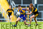 Johnny Buckley Dr Crokes in action against John Spillane Kenmare District in the Senior County Football Championship final at Fitzgerald Stadium on Sunday.
