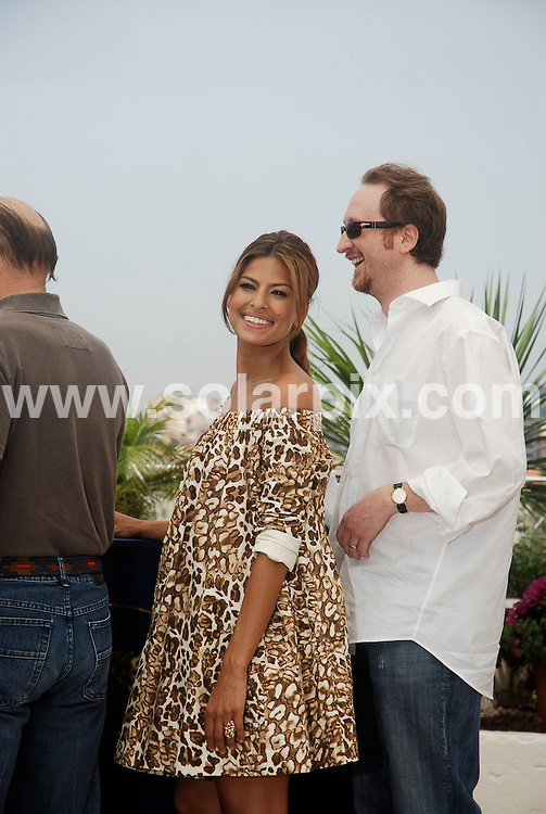 **ALL ROUND PICTURES FROM SOLARPIX.COM**.**WORLDWIDE SYNDICATION RIGHTS**.Eva Mendes and James Gray attend photocall for 'We Own The Night' at the 60th Cannes Film Festival, France..JOB REF: 4001      JWC        DATE: 25/05/2007.**MUST CREDIT SOLARPIX.COM OR DOUBLE FEE WILL BE CHARGED* *UNDER NO CIRCUMSTANCES IS THIS IMAGE TO BE REPRODUCED FOR ANY ONLINE EDITION WITHOUT PRIOR PERMISSION*