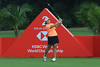 Ha Na Jang (KOR) in action on the 2nd during Round 2 of the HSBC Womens Champions 2018 at Sentosa Golf Club on the Friday 2nd March 2018.<br /> Picture:  Thos Caffrey / www.golffile.ie<br /> <br /> All photo usage must carry mandatory copyright credit (&copy; Golffile | Thos Caffrey)