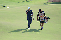 Justin Rose (ENG) on the 15th during the final round of the DP World Tour Championship, Jumeirah Golf Estates, Dubai, United Arab Emirates. 19/11/2017<br /> Picture: Golffile | Fran Caffrey<br /> <br /> <br /> All photo usage must carry mandatory copyright credit (© Golffile | Fran Caffrey)