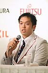 Reo Fujimoto (JPN), <br /> AUGUST 2, 2016 : <br /> Japan National team attend a press conference <br /> for Rio Paralympic Games <br /> in Tokyo, Japan. <br /> (Photo by AFLO SPORT)