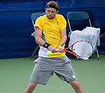 Mardy Fish (USA) defeats Julien Benneteau (FRA) 6-3, 7-5,  at the CitiOpen in Washington, D.C., Washington, D.C.  District of Columbia on July 31, 2013.