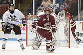 Marc Bastarache, Tyler Sims, Brock Bradford, Dan Bertram - The Boston College Eagles defeated the Providence College Friars 4-1 on Saturday, January 7, 2006, at Schneider Arena in Providence, Rhode Island.