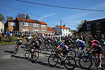 Action from Stage 1 of the Asda Womens Tour de Yorkshire 2018 running from Beverley to Doncaster, England. 3rd May 2018.<br /> Picture: ASO/Alex Broadway | Cyclefile<br /> <br /> <br /> All photos usage must carry mandatory copyright credit (&copy; Cyclefile | ASO/Alex Broadway)