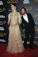 www.acepixs.com<br /> January 17, 2017  New York City<br /> <br /> Camilla Alves and Matthew McConaughey attending The World Premiere of 'Gold' at AMC Loews Lincoln Square 13 theater on January 17, 2017 in New York City.<br /> <br /> <br /> Credit: Kristin Callahan/ACE Pictures<br /> <br /> Tel: 646 769 0430<br /> Email: info@acepixs.com