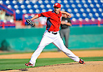 2 March 2011: Washington Nationals pitcher Sean Burnett on the mound during a Spring Training game against the Florida Marlins at Space Coast Stadium in Viera, Florida. The Nationals defeated the Marlins 8-4 in Grapefruit League action. Mandatory Credit: Ed Wolfstein Photo