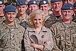 """PIXIE LOTT.visits RAF Northolt to meet members of The Royal Air Force (including Queens's Colour Squadron) and their families on behalf of The Royal British Legion Poppy Appeal 2012_25/10/2012.Mandatory Credit Photo: ©N Chapman/NEWSPIX INTERNATIONAL..**ALL FEES PAYABLE TO: """"NEWSPIX INTERNATIONAL""""**..IMMEDIATE CONFIRMATION OF USAGE REQUIRED:.Newspix International, 31 Chinnery Hill, Bishop's Stortford, ENGLAND CM23 3PS.Tel:+441279 324672  ; Fax: +441279656877.Mobile:  07775681153.e-mail: info@newspixinternational.co.uk"""